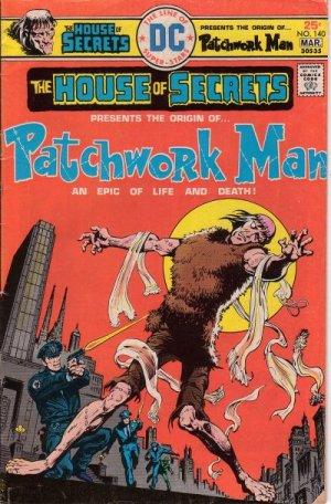 Maison des secrets 140 - Reprise:The Patchwork Man