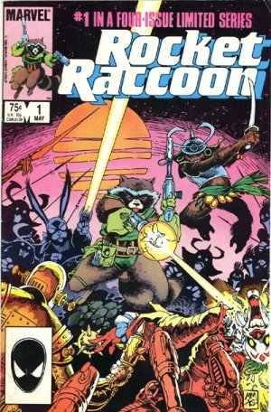 Rocket Raccoon # 1 Issues V1 (1985)