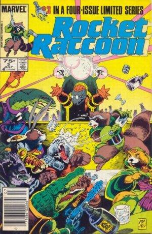 Rocket Raccoon # 3 Issues V1 (1985)