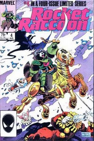 Rocket Raccoon # 4 Issues V1 (1985)