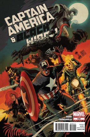 Captain America and Black Widow # 640 Issues