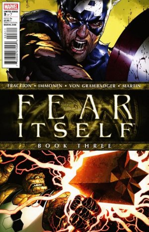Fear Itself # 3 Issues (2011 - 2012)