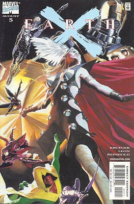 Earth X # 5 Issues