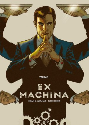 Ex Machina édition TPB hardcover (cartonnée)