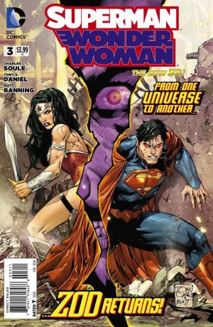 Superman / Wonder Woman # 3 Issues