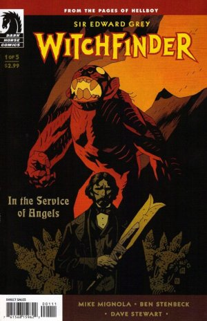 Sir Edward Grey, Witchfinder - In the Service of Angels # 1 Issues