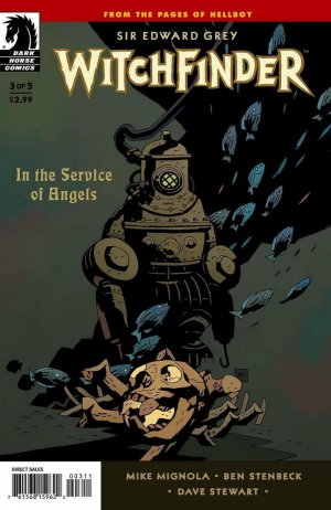 Sir Edward Grey, Witchfinder - In the Service of Angels # 3 Issues