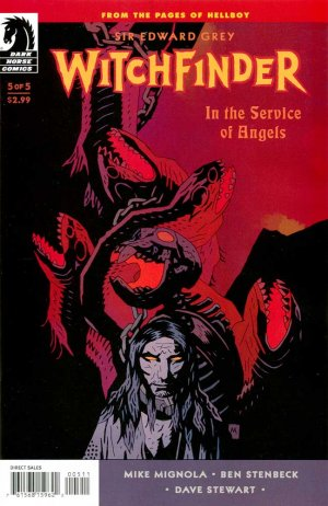 Sir Edward Grey, Witchfinder - In the Service of Angels # 5 Issues