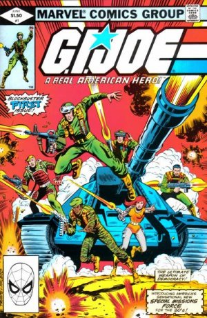 G.I. Joe - A Real American Hero édition Issues V1 (1982 - 1994)