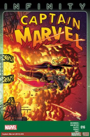 Captain Marvel # 16
