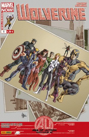 Wolverine And The X-Men # 5 Kiosque V4 (2013 - 2015)