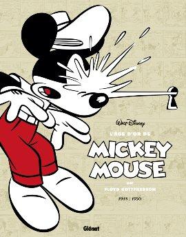 couverture, jaquette L'Âge d'Or de Mickey Mouse 8  - 1948 / 1950 - Le Mystère de l'Atombrella et autres histoiresTPB softcover (souple) (glénat bd) Comics
