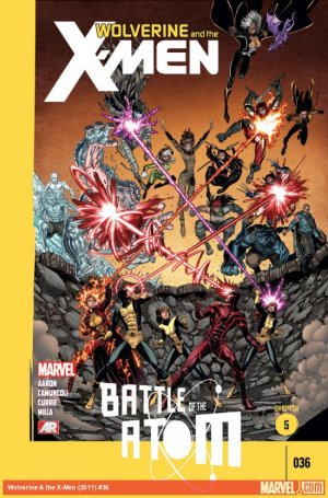 Wolverine And The X-Men 36 - Battle of the Atom, Chapter 5
