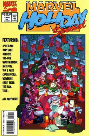 Marvel Holiday Special # 1993 Issues (1991 - 2012)