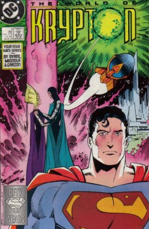 The World of Krypton # 4 Issues