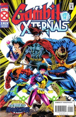 Gambit and the X-Ternals # 1 Issues