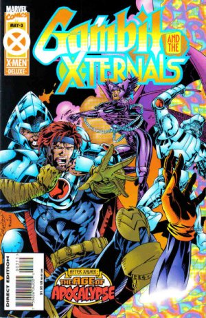 Gambit and the X-Ternals # 3 Issues