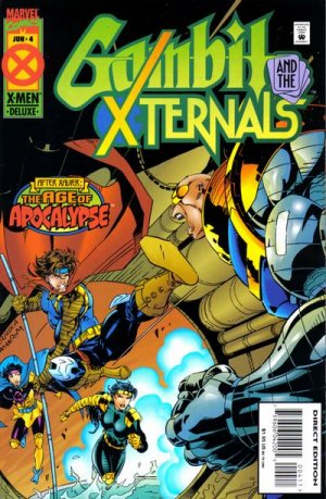 Gambit and the X-Ternals # 4 Issues