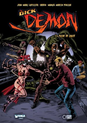 Dick Demon édition TPB hardcover (cartonnée)