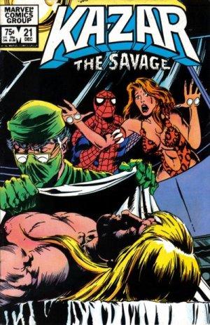 Ka-Zar # 21 Issues V3 (1981 - 1984)
