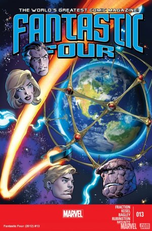 Fantastic Four # 13 Issues V4 (2013 - 2014)