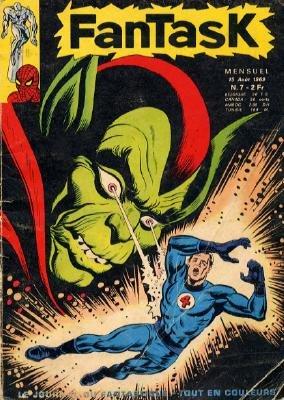 Fantastic Four # 7 Kiosque V1 (1969)