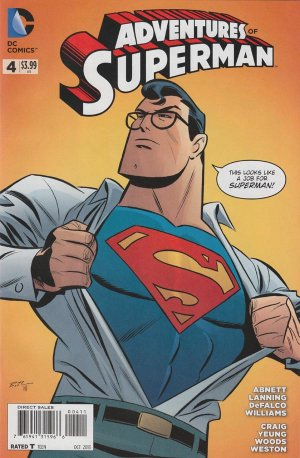 The Adventures of Superman # 4 Issues V2 (2013 - 2014)