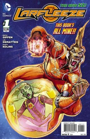 Larfleeze édition Issues V1 (2013 - 2014)