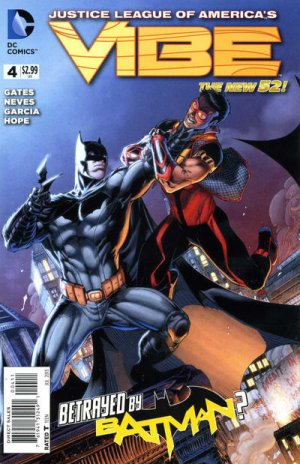 Justice League of America's Vibe 4 - Illusions and Disillusions