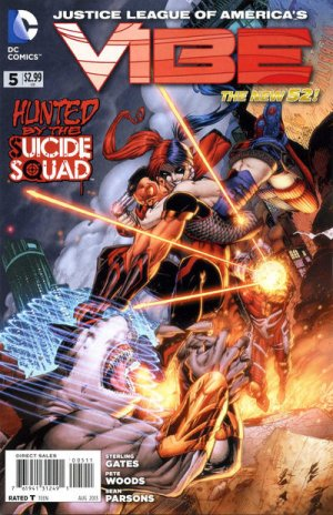 Justice League of America's Vibe # 5 Issues V1 (2013 - 2014)
