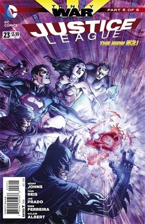 Justice League 23 - Trinity War Chapter Six: Conclusion