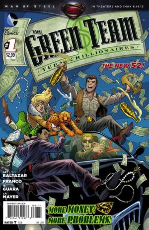 The Green Team - Teen Trillionaires édition Issues V1 (2013 - 2014)