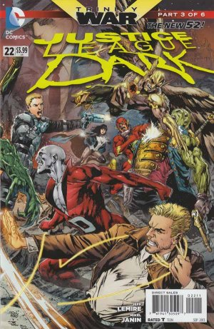 Justice League Dark 22 - Trinity War Chapter Three: House of Cards