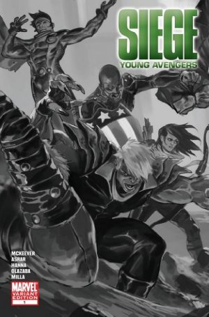 Siege - Young Avengers # 1 Issues