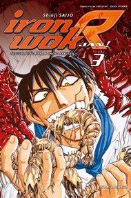 couverture, jaquette Iron Wok Jan R 3  (soleil manga)