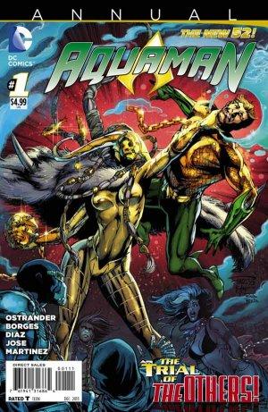 Aquaman édition Issues V7 - Annuals (2013 - 2014)