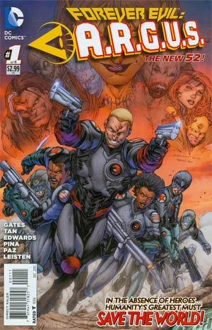 Forever Evil - A.R.G.U.S. # 1 Issues
