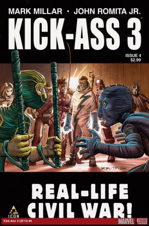 Kick-Ass 3 # 4 Issues (2013 - 2014)
