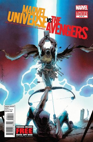 Marvel Universe Vs. The Avengers # 4 Issues (2012 - 2013)
