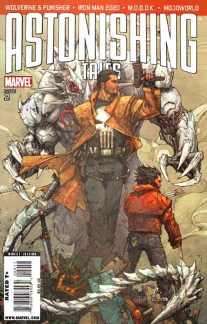 Astonishing Tales # 2 Issues V2 (2009)