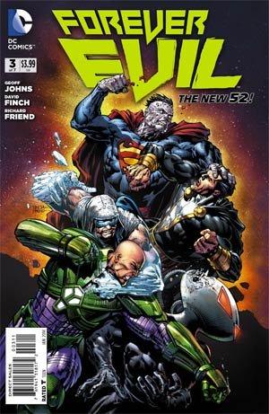 Forever Evil # 3 Issues