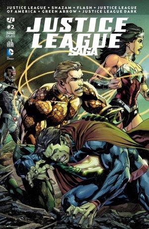 Justice League # 2 Kiosque mensuel