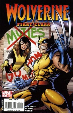 Wolverine - First Class édition Issues
