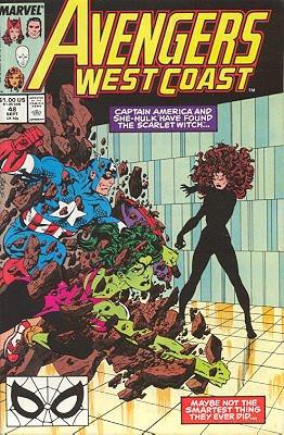 Avengers West Coast 48 - This Ancient Evil