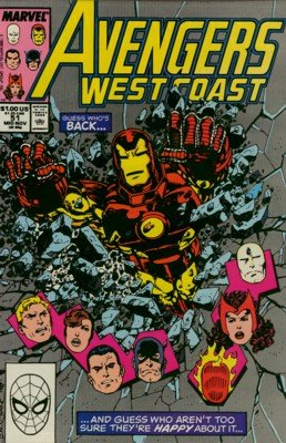 Avengers West Coast 51 - I Sing of Arms and Heroes...