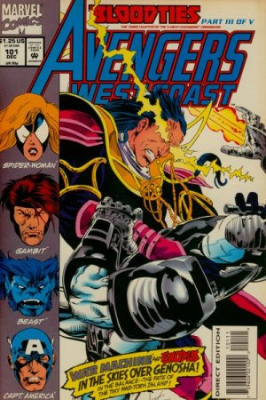 Avengers West Coast # 101 Issues - West Coast Avengers (85) Suite (89 - 93)