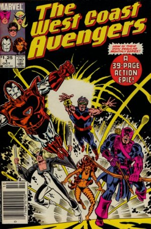 West Coast Avengers édition Issues V2 (1985 - 1989)