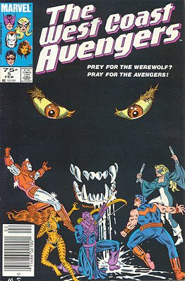West Coast Avengers # 5 Issues V2 (1985 - 1989)