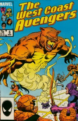West Coast Avengers # 6 Issues V2 (1985 - 1989)