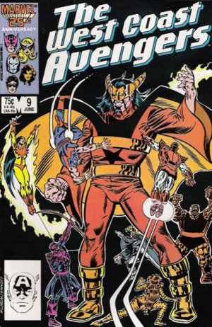 West Coast Avengers # 9 Issues V2 (1985 - 1989)